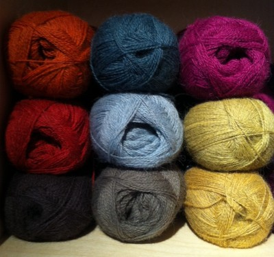 A selection of shades of Alpaca 1