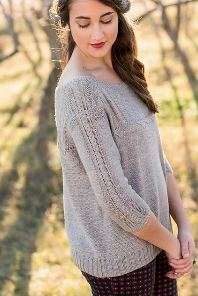 Bailiwick Pullover by Stephanie Spainhower