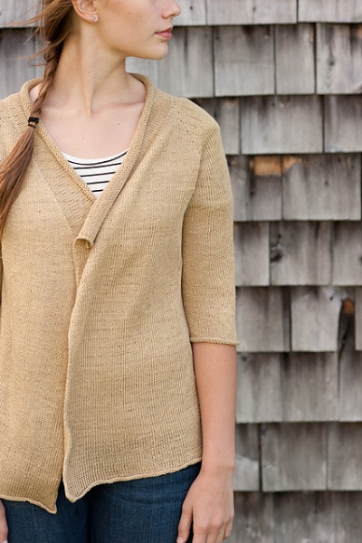 Brise Cardigan by Hannah Fettig for Quince and Co.