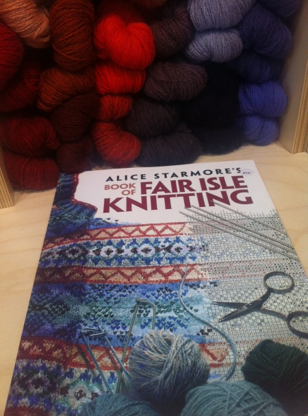 Alice Statmore's Book of Fair Isle knitting