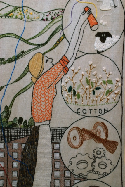 Cotton milling in Scotland