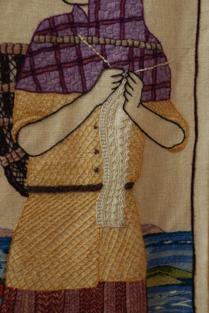 Detail from the Great Tapestry of Scotland