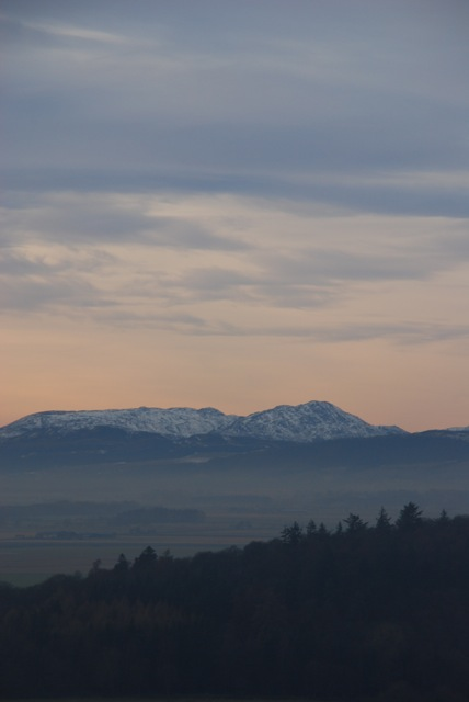 Stirling in late winter