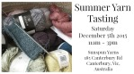 Summer Yarn Tasting Feature Image